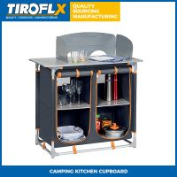 CAMPING KITCHEN CUPBOARD