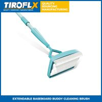 EXTENDABLE BASEBOARD BUDDY CLEANING BRUSH