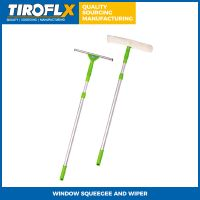 WINDOW SQUEEGEE AND WIPER