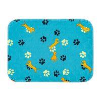 Custom Non-Slip Absorbent Dog Washable Puppy Pads Waterproof Whelping Training Reusable Waterproof Pet Pad