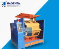 Dry centrifugal hanger grinding and polishing machine