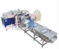 Full automatic magnetic abrasive finishing production line