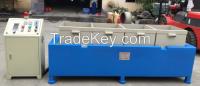 Translational magnetic grinding machine for large workpiece deburring and Polishing