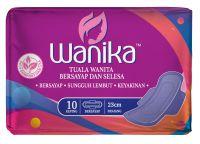 Wanika Sanitary Napkin - Wing 230mm (10's)