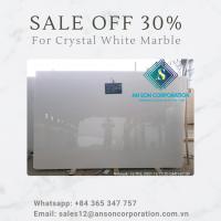 Hot Promotion Hot Sale for Crystal White Marble Tile & Slab