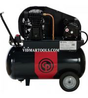 Portable Electric Air Compressor Chicago Pneumatic - 2 HP, 20 Gallon Horizontal, 7.6 CFM