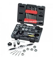 Tap and Die Drive Tools GearWrench 40 Pc SAE Set
