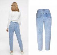 Denim pants made from denim jeans