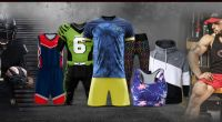 Football Soccer Uniform with customized logos and labels