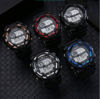 Teenage Student Electronic Watch Waterproof Chronograph Alarm Multifunction Watch Trend Men's and Women's Watches