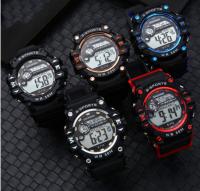 Luminous multifunctional electronic watch men's outdoor sports electronic watch student fashion waterproof watch