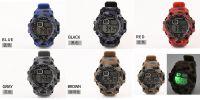 Adult Waterproof Men's Watch Luminous Outdoor Sports Digital Watch Fashion Trend Camouflage Watch