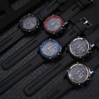 Black screen adult watch waterproof multi-function watch fashion luminous electronic watch men's watch