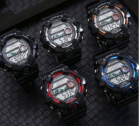 Men's adult electronic watch luminous multi-function watch daily waterproof watch for teenagers and children