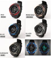 Sports electronic watch outdoor waterproof men's watch foreign trade cross-border luminous electronic watch