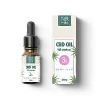 CBD Oil Full Spectrum 3%, 5%, 10%, 15%, 20%, 25%, 30% with your Logo, OEM, Customization, White Label