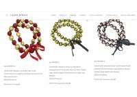 Hawaiian pendant jewelry sets, 14K GP/Kukui nuts necklace/Artificial handmade fabric flower necklace