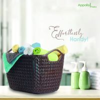 Appollo houseware Lace Basket vegetable basket, elegant Fruit basket, washable easy to handle durable high quality plastic basket for fruits, unbreakable, non-toxic, BPA free basket, stackable and space saver design.