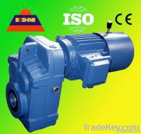 Series Helical Gear Speed Reducer Motor