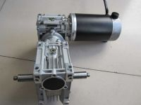 DC Worm Gearbox Reducer Motor