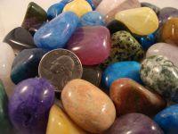 Polished Gemstones Of Mixed Sizes/Colors