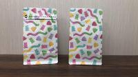 Digital inkjet printing flat bottom bag