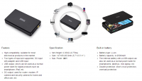 UPS FOR WIFI ROUTER, UPS FOR CAMERA, UPS FOR SECURITY CAMERA, WITH DC, USB, POE OUTPUT, 10000MAH