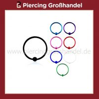 Wholesale Colour-Plated Nose Hoop