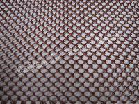Metal coil drapery, metal drapery, wire drapery