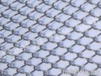 Metal coil drapery  metal
