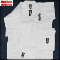 White Karate uniforms