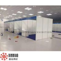 Chinese shell scheme booth supplier exporter, 3X3X2.5M portable exhibition booth