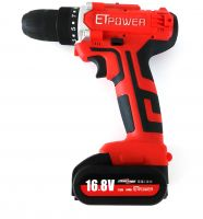 ETpower Mini hand power tool kit cordless Li-ion battery 16.8V Electric Cordless Chainsaw