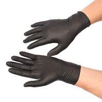 Blue/Black Nitrile Gloves