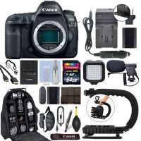 Wholesales For Canon EOS 5D Mark IV DSLR Camera & 24-105mm f/4L II USM Lens+ 64GB Pro Video Kit