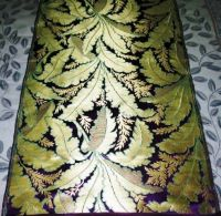 HAND MADE METTALIC SILK BROCADES FABRICS