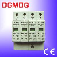 DGM surge protection device for low voltage distribution