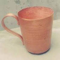 Handmade copper cups mug
