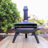 Outdoor circle shape gas Pizza Oven