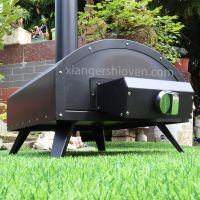 Portable Gas Outdoor Pizza Oven For Home Garden Balcony, Perfect For Outside Cooking