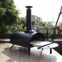 Latest Design Drawer Type Black Spray Process Outdoor Gas Pizza Oven
