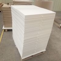 Customized paper plate paper flat paper sheet paper PE coated