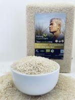 Organic white hom mali (jasmine) rice