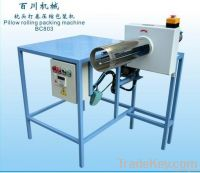Pillow Rolling & Packing Machine