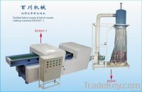 Quilted fabric waste & fabric waste cutting machine