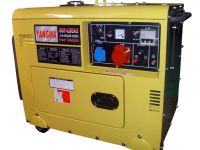 soundproof home use 2KW-15KW air cooled portable small electric silent diesel generator SET