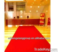 Plain style Nonwoven exhibition carpet 250g-1000g by factory price