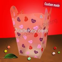 Twilled plastic packaging PP box