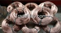 High carbon Cu-coated steel wire