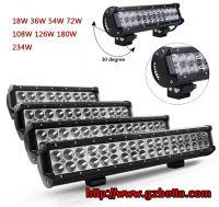 Wholesale 24V 12V LED offroad light bar for cars trucks motorcycle jeeps, LED light bar